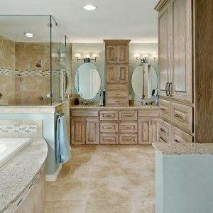 Residential Bath $30,000 to $60,000 - Bry-JO Roofing and Remodeling / Universal Design Recognition - Dallas Renovation Group