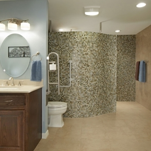 Residential Bath $25,000 to $50,000 – BRY-JO Roofing & Remodeling with Universal Design Recognition