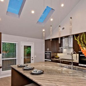 Residential Kitchen over $150,000 – Marvelous Home Makeovers/The Kitchen Source/Aria Stone Gallery – A Team Entry